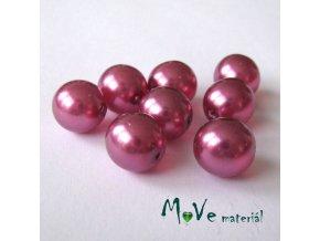 České voskové perle12mm 8ks (cca 20g), růžové
