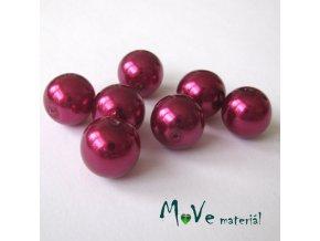 České voskové perle13mm 7ks (cca 20g), cyklámen