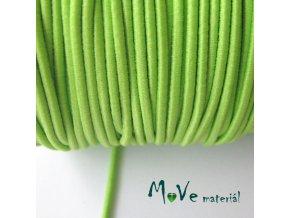 Pruženka kulatá 2mm, 1m, sv. zelená