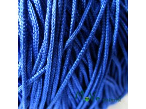 Nylonová pletená šňůra - 1mm/3m, modrá