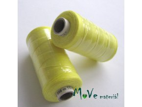 Nit Unipol 100%PES 500m žlutá
