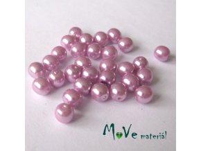 České voskové perle 5mm, 30ks (cca 5g), růžové