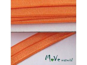 Pruženka lemovací šíře 20mm, 1m, oranžová