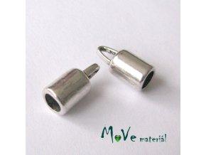 Koncovka 14x6,5mm, 2ks, stříbrná