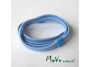 Sada plochých gumiček na úpravu, 2ks, modrá