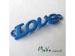 Mezikus LOVE 8x38mm, 1ks, modrý