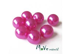 České voskové perle 12mm/8ks (cca 20g), růžové