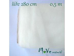 svatební tyl jemný smetanový 50cm/ š 280cm