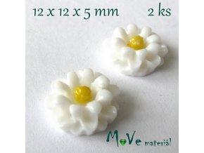 Kabošon E4 - resin - 2ks, bílý