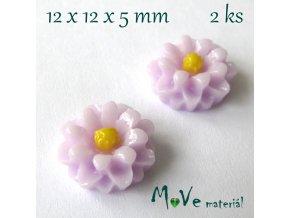 Kabošon E4 - resin - 2ks, lila