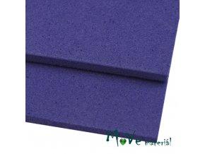 Moosgummi 20x30cm, tm. modrá, 1ks