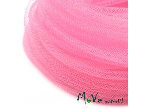 Modistická krinolína dutinka 4mm, 1m, růžová