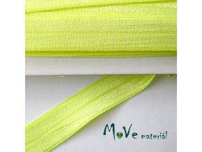 Pruženka lemovací šíře 18mm, 1m, neonově žlutá