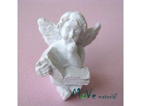 Andělíček s knihou - dekorace