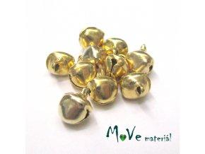 Rolničky zlaté 8mm, 10ks