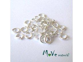 Spojovací kroužek průměr 5mm, 3g/cca 36ks