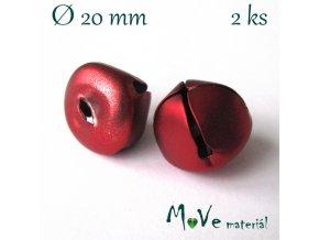 Rolničky červené 20mm, 2ks
