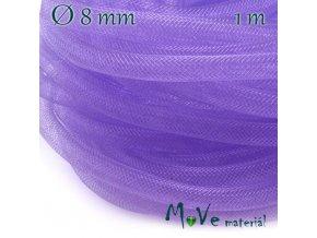Modistická krinolína dutinka 8mm, 1m, fialová