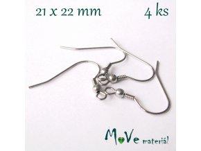 Afroháčky chirurgická ocel 4ks (2 páry)