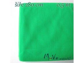 svatební tyl jemný neon. zelený 50cm/ š 280cm