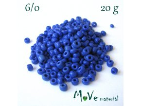Rokajl 6/0, 20 g, modrý