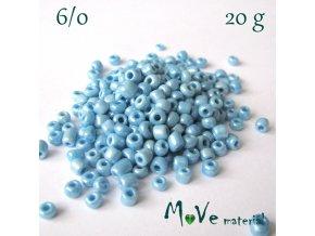 Rokajl 6/0, 20 g, světle modrý