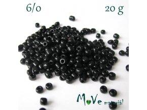 Rokajl 6/0, 20 g, černý