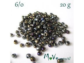 Rokajl 6/0, 20 g, měňavý IV