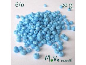 Rokajl 6/0, 20 g, sv. modrý