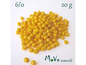 Rokajl 6/0, 20 g, žlutý