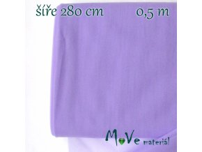 svatební tyl jemný - lilac 50cm/ š 280cm