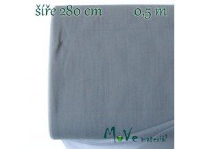 svatební tyl jemný tmavě šedý 50cm/ š 280cm