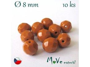 České ohňovky 8mm, 10ks, rezavé