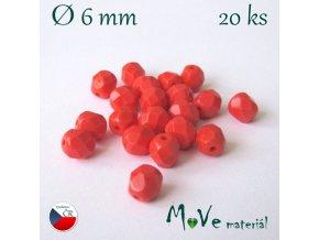 České ohňovky 6mm/20 ks, mandarinkové