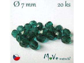 České ohňovky 7mm/20 ks, zelené