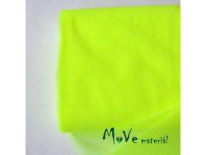 svatební tyl jemný neon. žlutá 50 cm/ š280 cm