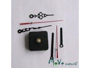Krystalový hodinový strojek s 6 ručičkami 1 ks