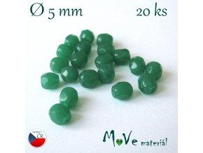 České ohňovky 5mm/20 ks, zelené