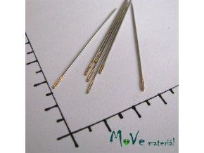 Jehly na perličky délka 48mm 2ks