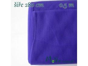 svatební tyl jemný 50 cm/ š280 cm, Blue purple