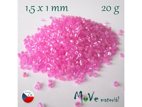 Český rokajl - tyčka, 20 g, růžový