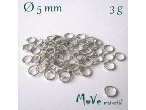 Spojovací kroužek průměr 5mm, 3g