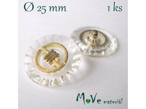 Knoflík ozdobný 25mm/1ks