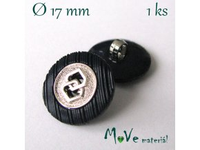 Knoflík ozdobný 17mm/1ks