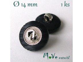 Knoflík ozdobný 14mm/1ks