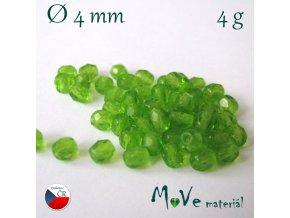 České ohňovky 4mm/4g, zelené
