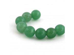 Jadeit - 8mm/4ks, zelený