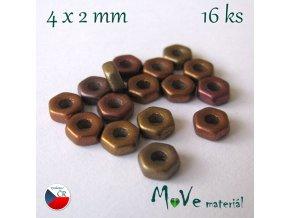 HEXA 4x2mm/16ks, mix
