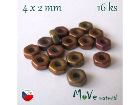 HEXA 4x2mm/16ks, mix