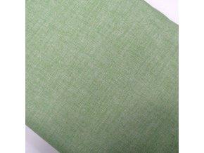 BAVLNĚNÉ PLÁTNO - plátno zelená, ŠÍŘE 150CM/1BM